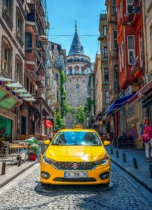 Taxi in Istanbul