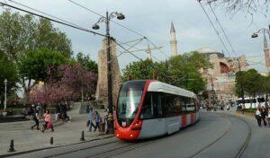 Tramvay in Istanbul