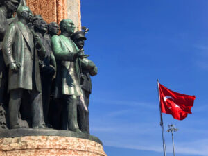 Taksim and Istiklal street