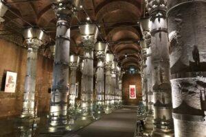Theodosius cistern in Istanbul