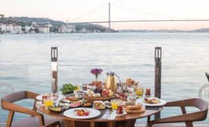 Turkish breakfast in Istanbul