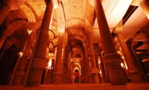 The cistern of Philoxenos Istanbul
