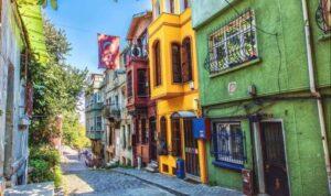 Balat district in Istanbul